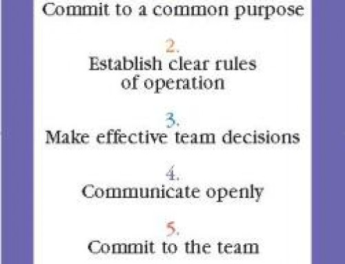 Seven Practices of High Performing Teams
