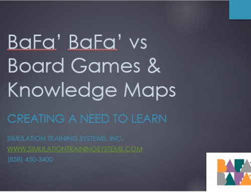 BaFa' BaFa' vs Board Games & Knowledge Maps
